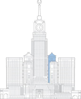 Abraj Al Bait ZamZam Tower Outline