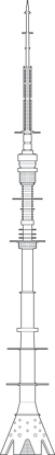 Ostankino Tower Outline