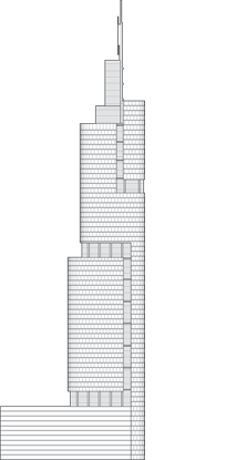 Zifeng Tower Outline